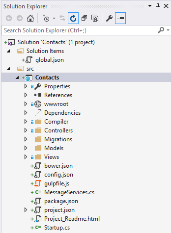 aspNet5SolutionExplorer