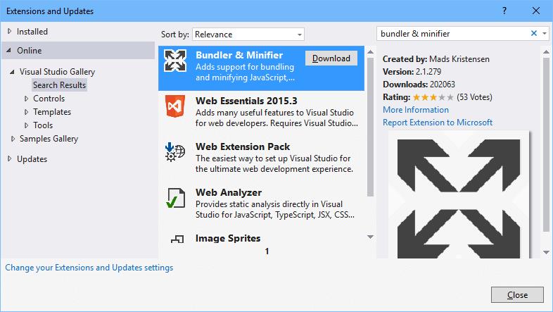 ExtensionBundlerMinifier
