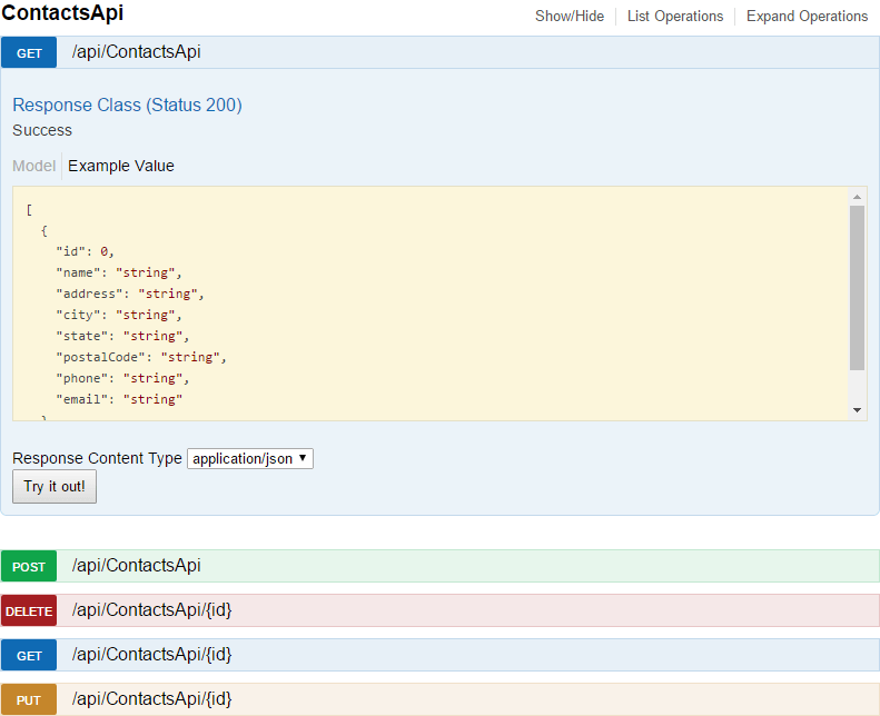 Swagger And Swashbuckle With Asp Core Api Eric L Anderson